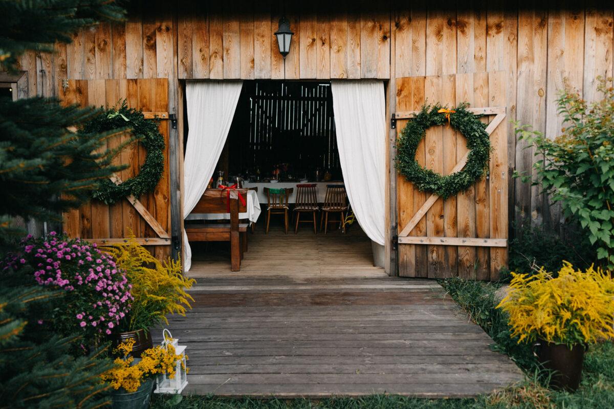 wesele w stodole Osada Młyńska