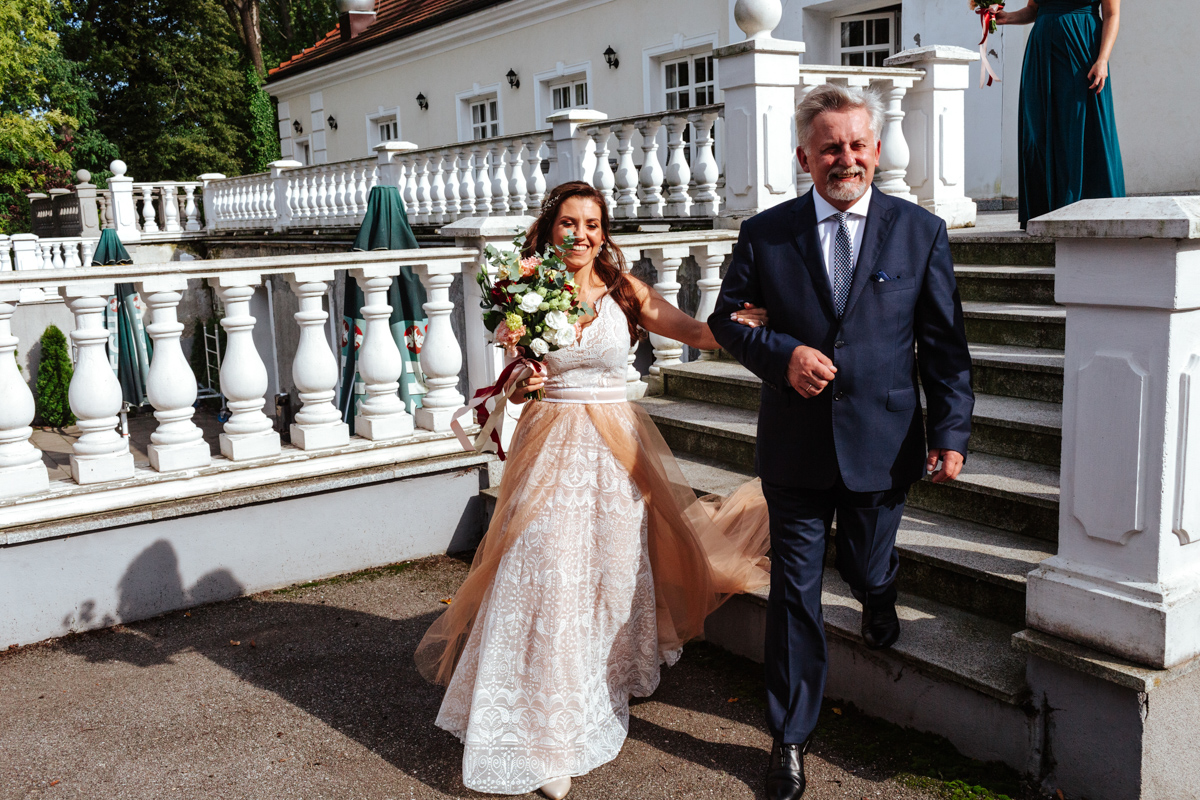 wesele w dworze Many
