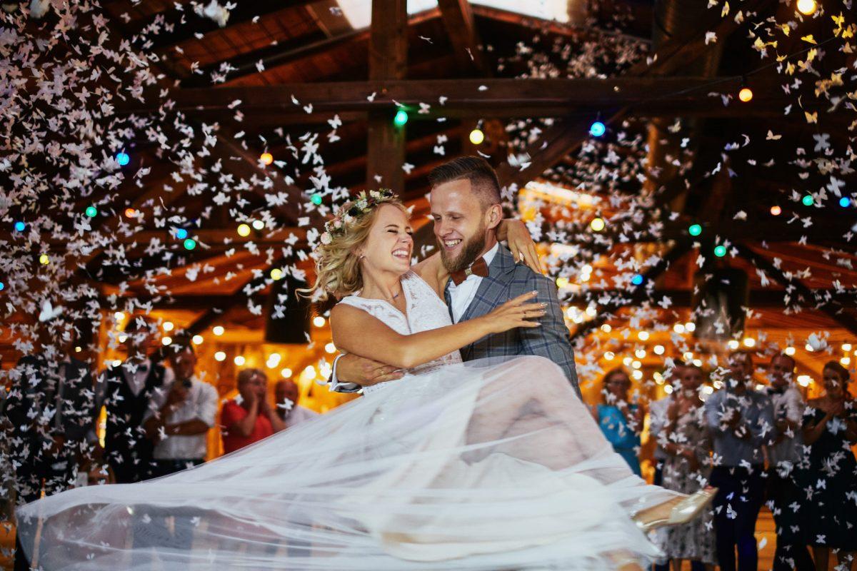wesele w sali weselnej na Śląsku